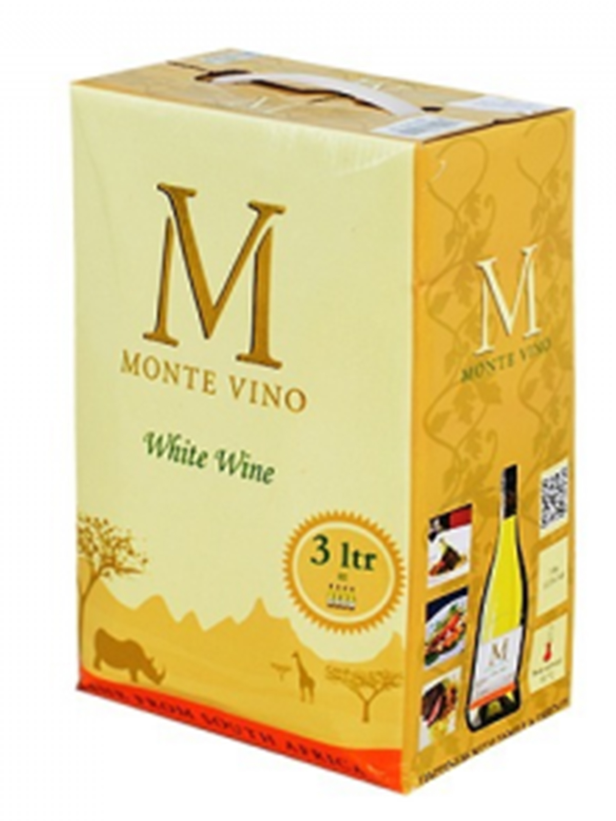 MONTE VINO white WINE BIB